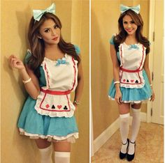 Gretchen Fullido as Alice in Wonderland