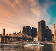 GILDY PLEASURES   Taking a ferry ride just to see the sunset over the water. Photo: @classyjorge Nyc Life, City Life, Lower Manhattan, Gotham City, New York City, New York Skyline, United States, America, Explore