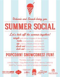 Summer Social! - June 14th at Urbanic