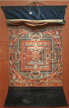 Mandala of the Forms of Manjushri, the Bodhisattva of Transcendent Wisdom