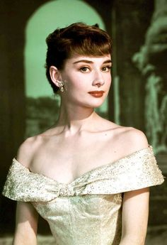 """summers-in-hollywood: """"Audrey Hepburn for Roman Holiday, 1953 """":"""