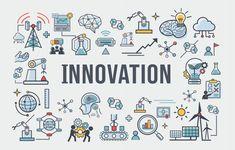 Icône de bannière d'innovation pour les ... | Premium Vector #Freepik #vector #logo #banner #affaires #technologie