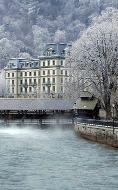 Thun in winter, Switzerland | by S W I S S D O G
