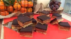 It& the last week of our Free From Feb month and John has a guilt-free treat to start the week off - gluten-free Millionaire& Shortbread. Lactose Free Recipes, Wheat Free Recipes, Gluten Free Treats, Paleo Treats, Sugar Free Recipes, Gluten Free Baking, Healthy Baking, Baking Recipes, Sweet Recipes