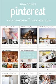 Pinterest can be a great tool for photography ideas and inspiration - this post gives you ideas on how to use it effectively (and not as a comparison tool!)