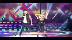 Showmatch 2015 - Fede Bal Abrio el Street Pop y Brillo.