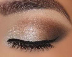 How to Eye Makeup for Brown Eyes | Rynablog -- for my brown eyed ladies for Meg's wedding
