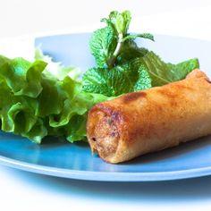 #recette des nems au poulet et aux crevettes !