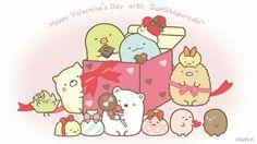 Sumikko gurashi valentines day