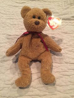 1f8c3a5943b Items similar to Curly Ty Beanie Baby - RARE on Etsy
