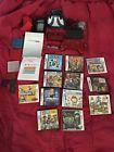 Nintendo 3DS Original Bundle - 12 Games & Many Accessories (Mario LEGO )