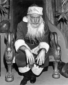 Art Carney as an unlikely Santa in The Twilight Zone episode, The Night of the Meek (1960)