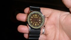freestyle mens watch has diver look 100m water resist new battery lighted dial