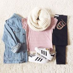 #Cute #Outfit #girly #fall #pink