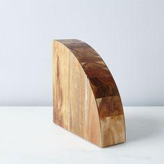 Magnetic Wood Knife Block on Food52