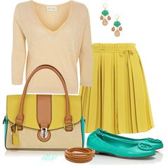 Oasis Color Block Bag by amy-phelps on Polyvore