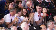 The Duchess of Cambridge claps and cheers as Britain's Nicola Adams becomes the first female boxing champion. August 9, 2012