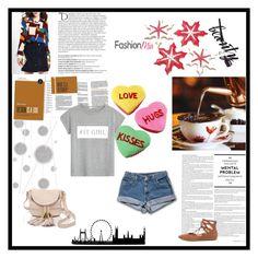 """""""It Girl"""" by gabriela2105 on Polyvore featuring moda, MANGO, See by Chloé, Liliana, Balmain y Komar"""