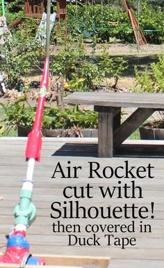 Air Rocket Cut with Silhouette