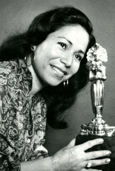 María Elena Velasco Fragoso (17 December 1940 – 1 May 2015) was a Mexican actress, comedienne, singer-songwriter, dancer, screenwriter, film producer, and one of Mexico's few major female film directors.[1][2] She is best known for creating and portraying La India María, a comical character based on indigenous Mexican women, in films and television programs.