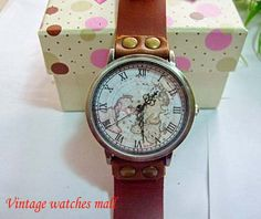 Personality characteristics manual cowhide by Vintagewatchesmall, $15.99