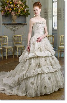 Extravagant and marie antoinette wedding dresses on for Marie antoinette wedding dress