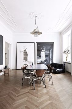 A classic but modern apartment - Living in White