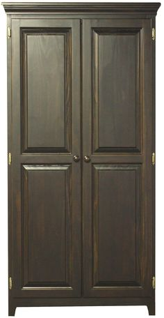 Fulton County Cabinets 2 Door Pantry