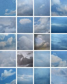 Lonnie Dean, Clouds (To Sol Lewitt), Artistic Photography, Landscape Photography, Art Photography, What Is Modern Art, Yves Klein, Sequence Photography, Geometric Shapes Art, Creative Landscape, Land Art