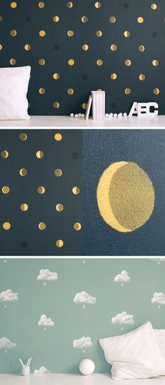 Papier peint http://bartsch-paris.com/fr/collections/papiers-peints/5-croissants-de-lune
