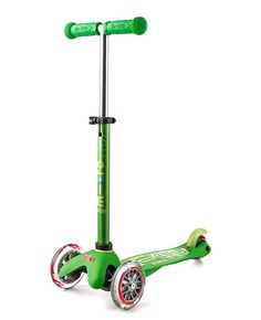 Mini Micro Scooter Deluxe Green #EntropyWishList #PinToWin - if Santa put this under our tree I am positive that no other gift would get a look in.