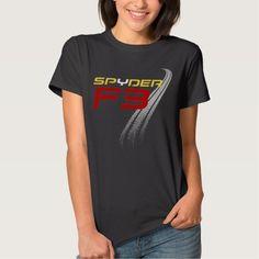 Can Am Spyder F3 Woman's Shirt: Dark Colors T Shirt