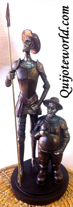 Figuras grandes decoración don Quijote de la Mancha: resina - Quijoteworld, ideas para decorar