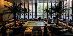"""""""What Have They Done to the Four Seasons?"""" New York magazine asks in a lengthy article checking in on the status of the institution's transformation. The first part of the answer is: They've split it in two. The whole thing will be known by the awkward name """"the Landmark Rooms at the Seagram Building."""" The grill room will become """"the Grill"""" and the pool room, """"The Pool."""" The Grill will open in April and the Pool is currently scheduled for the fall."""
