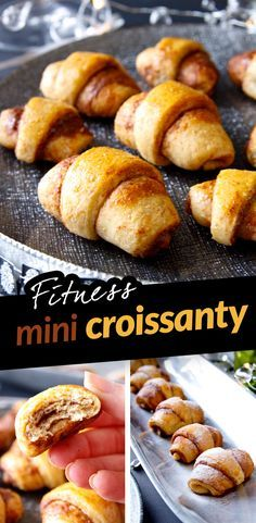 Mini Croissant, Baked Potato, Tart, Food And Drink, Bread, Healthy Recipes, Cooking, Nutella, Ethnic Recipes
