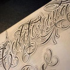 """CALIFORNIA"" #k #kmlst #konetattoo #konescript #lettersgame #letteringtattoo #letteringcartel #letras #lettering #customscript"
