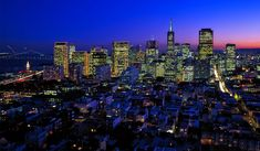 Best Place To Spend New Year's Eve In USA San Francisco