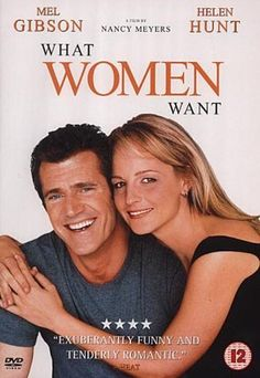 What Women Want (2000) directed by Nancy Meyers, starring Mel Gibson, Helen Hunt and Marisa Tomei. After an accident, a chauvenistic executive gains the ability to hear what women are really thinking.#Repin By:Pinterest++ for iPad#