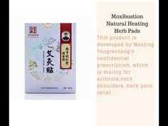 Moxibustion Natural Heating Herb Pads Heat Therapy Patches