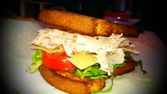 Smoked Turkey and Swiss on Challah Bread...Crave Sandwiches Special!