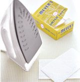 Remove gunk from the soleplate of an iron. With the setting on low, rub the iron over the dryer sheet until the residue disappears, and you're left with a pristine press.