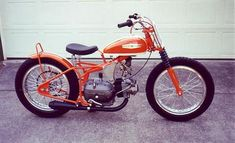 Vintage Motorcycles, Cars And Motorcycles, Harley Dirt Bike, Motor Cruiser, Flat Tracker, Bike Art, Ceiling Tiles, Mini Bike, Custom Bikes