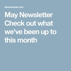 May Newsletter Check out what we've been up to this month French Bistro Chairs, Christians, Jewelry Ideas, Prayer, Check, June, Thanksgiving, Gift Ideas, Handmade