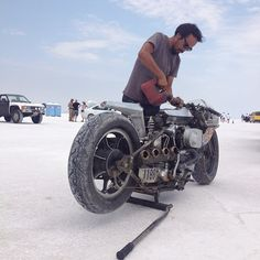 Bonneville Speed Week 2012 photos ~ Return of the Cafe Racers