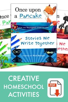 Creative writing activities for kids at home — Print, write, giggle! Preschool Writing, Preschool Learning Activities, Teaching Writing, Book Activities, Preschool Activities, Teaching Kids, Toddler School, Tot School, Learning Time