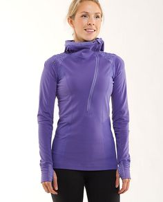 Got this in black to match the Run: For it Tight. It was a costly hour in Lululemon.