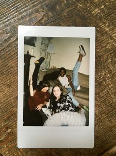Parris + Georgina + Milly doing 'yoga'. Late August 2017.