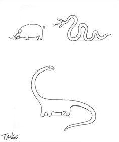 Simple formula for bringing back the dinosaurs.