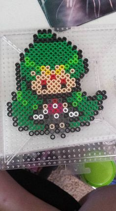 Sailor Pluto perler beads by IsXack-bassist on DeviantArt