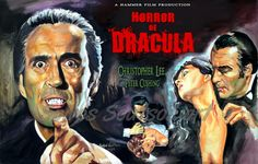 "Christopher Lee ""Horror Of Dracula"" 1958 